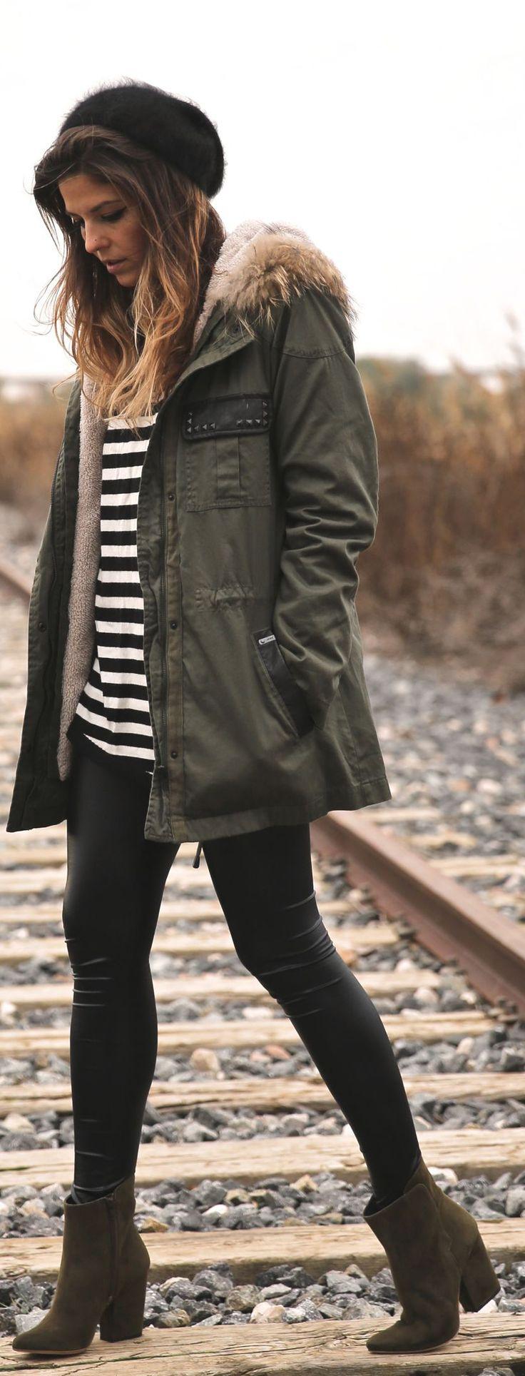 Top 25  best Khaki jacket ideas on Pinterest | Army jacket style ...