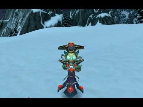 amazing World of Warcraft® Pet Lil' K.T. Idle Animation