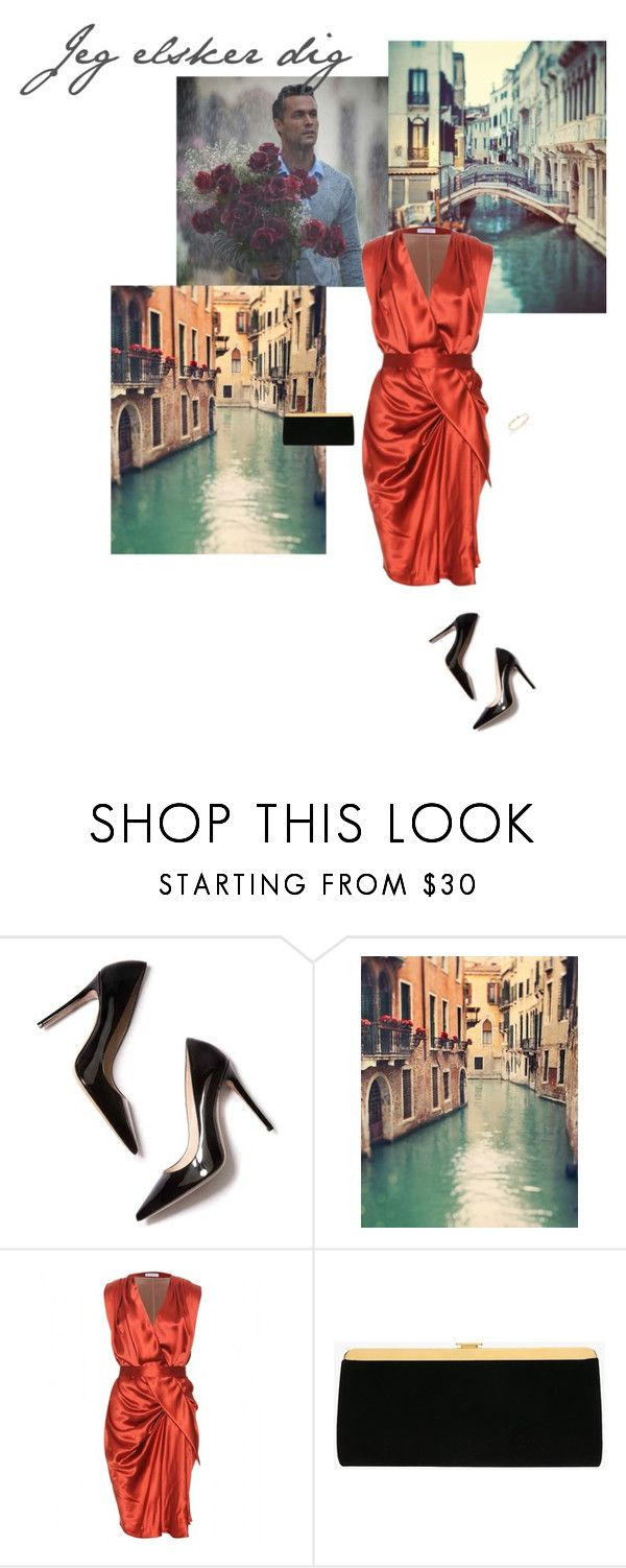 """""""Jeg elsker dig"""" by class-in-the-corner-office on Polyvore featuring M. Gemi, Vionnet, Balmain and Phillips House"""