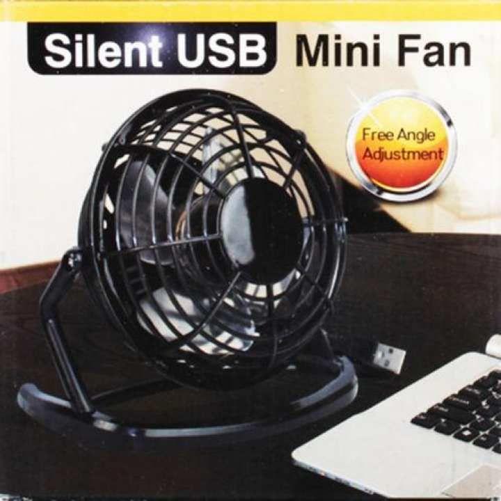 Mini Usb Desk Fan Super Quiet Portable Cooling Air Cooler For