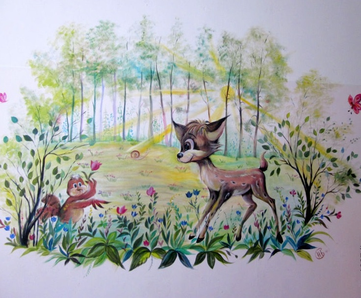 Custom Hand Painted Wall Murals By Eelna Part 85