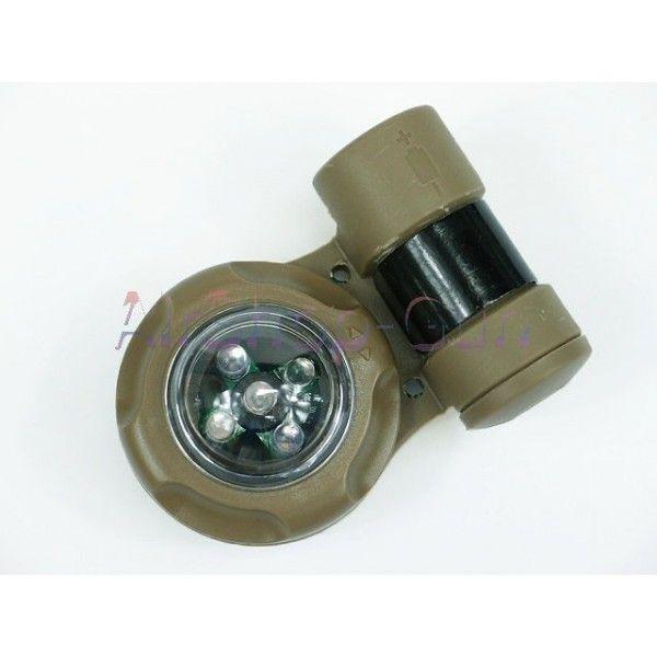 Réplique VIP Sécurité signal Strobe Version Sceau de lumière. Fabriqué en ploymer ABS dur Le nuit, il est visible plus de (5km). Clignote plus de 200 heures avec une pile CR123A (fourni). 3 modes de sortie: 3 LED verte équilibré sur le mode, SOS 3 LED verte mode stroboscope, 2 IR LED mode stroboscopique. Commutateur rotatif pour 3 modes de sortie.