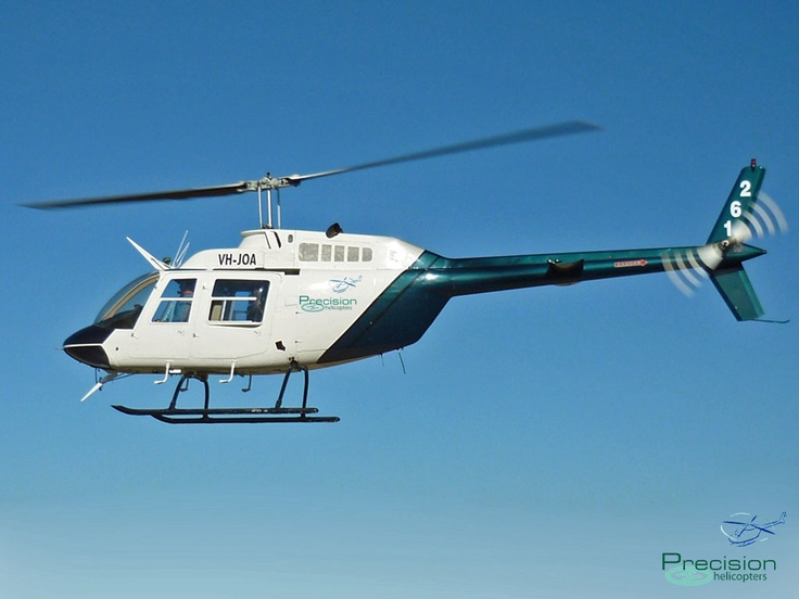 Bell JetRanger 206 Coffs Harbour NSW www.precisionhelicopters.com.au