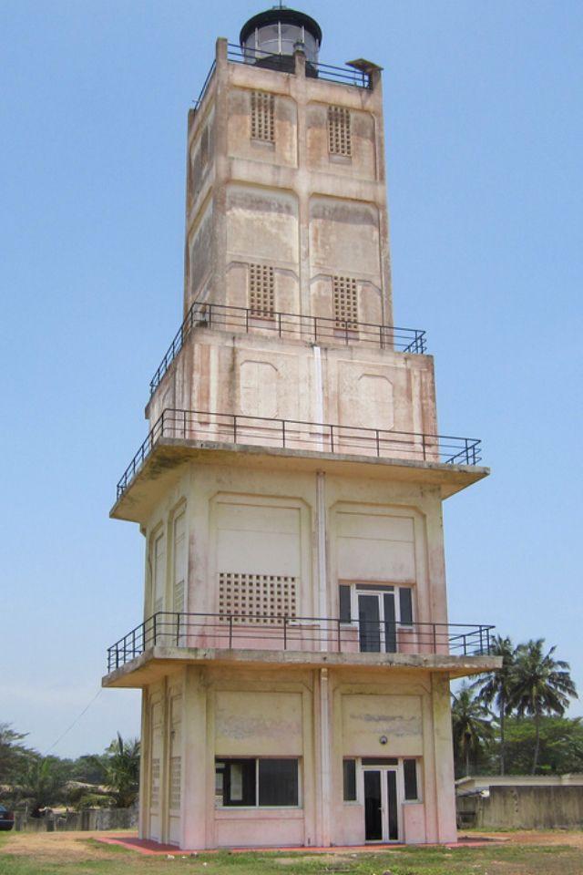 Lighthouse - Phare de Port-Bouet, Abidjan