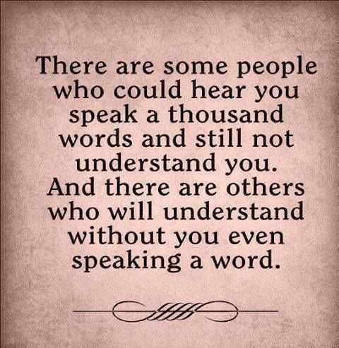There are some people who could hear you...