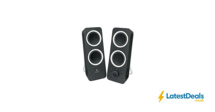 LOGITECH Z200 Multimedia 2.0 10 Watt Desktop PC Speakers Save £16 Free Delivery, £23.99 at ebay