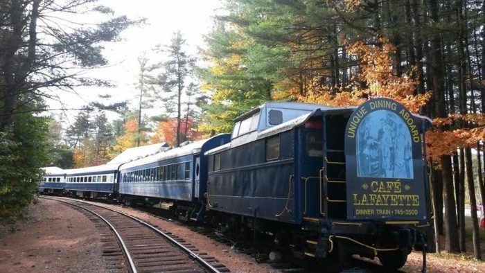 This Train In New Hampshire Is Actually A Restaurant And You Need To Visit