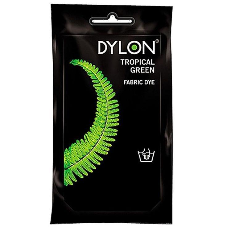 DYLON Elde Boyama - Tropical Green - Tropical Green Fabric Dye - Elde Boyama www.gagva.com.tr