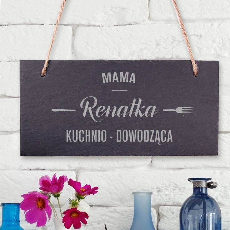 Personalizowana tabliczka kamienna MAMA