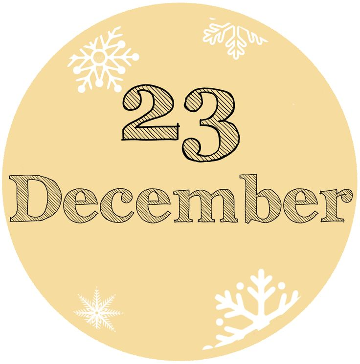 Our #Advent Calendar: 23 December - #NewYear  resolution