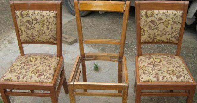 Старые стулья на свалку?! Забудь об этой идеи! Делаем банкетку, оригинальную лавку и многое другое! — В Курсе Жизни