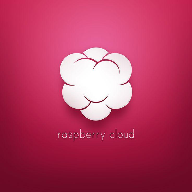 raspberry cloud - #logo design