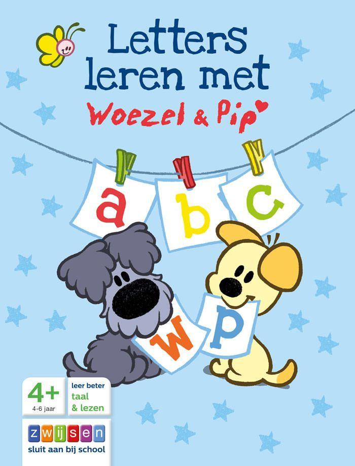 Letters leren met Woezel & Pip