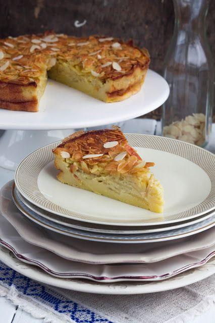 Tarte de maçã e amêndoa | Apple and almond pie