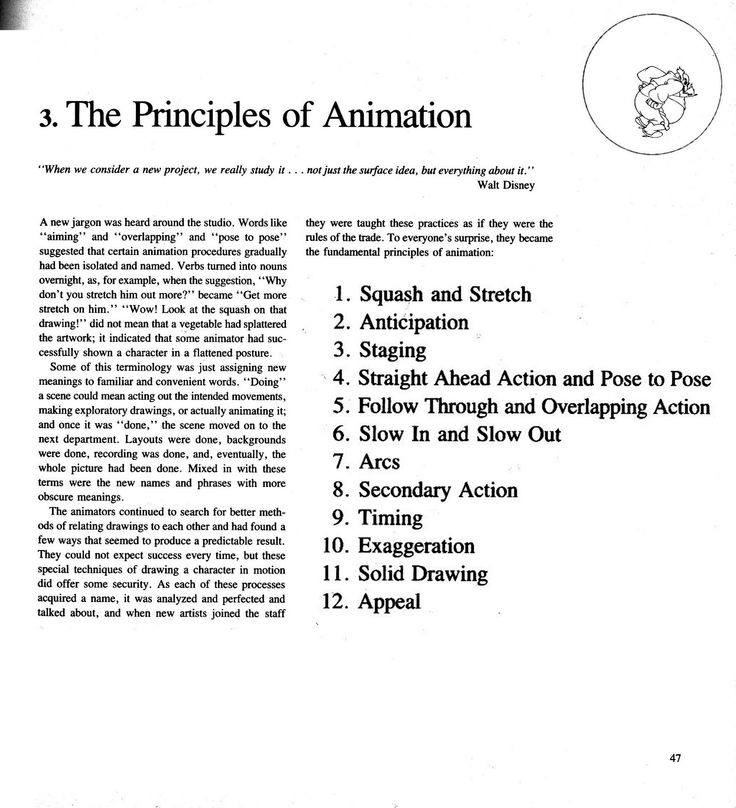13 best Principles of Animation images on Pinterest Animation - resume with education