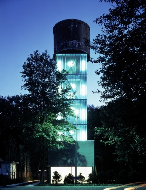 We ❤ Converted Water Towers! Here's A Nice One In Belgium #architecture