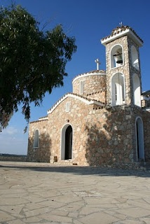 Church on the hill, Protaras. Another nice pic by emsyjo.blogspot.com