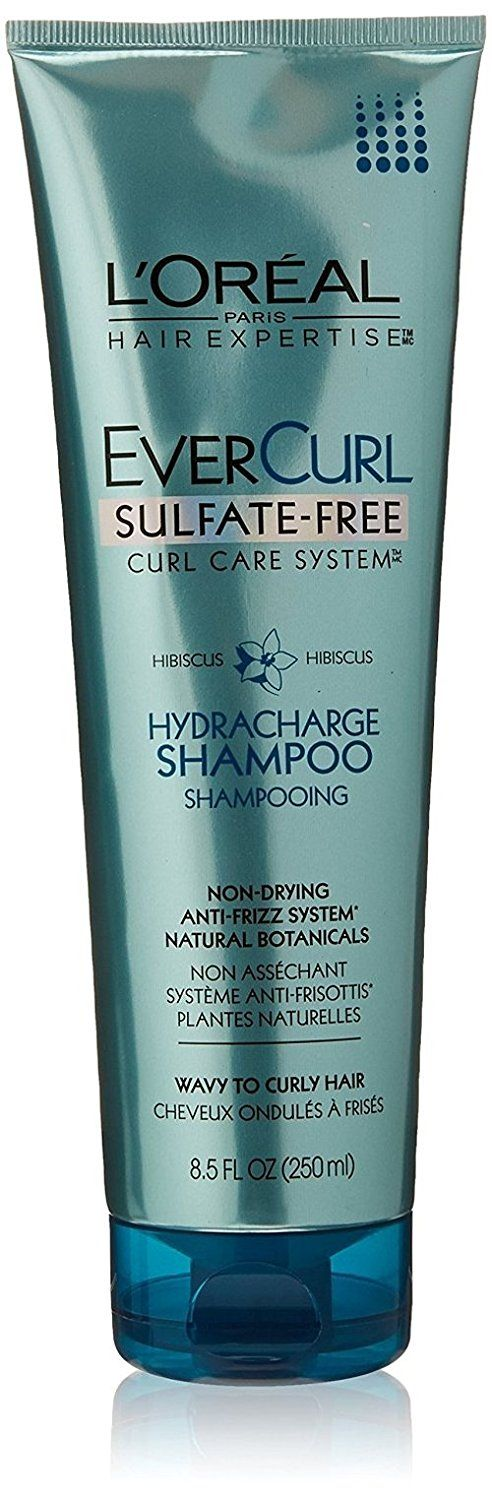 Loreal Shampoo Evercurl Sulfate-Free Hydracharge 8.5 Ounce (251ml) (2 Pack) * Learn more by visiting the image link. #hairstyle