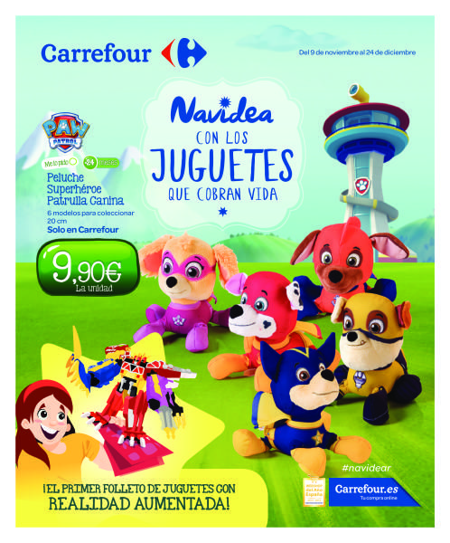 Catálogo Carrefour juguetes 3D -  Nuevo catálogo de juguetes 3D en los supermercados Carrefour, aprovecha sus ofertas en juguetes y realiza la compra antes de Navidad para poder ahorrarte dinero. Carrefour ha innovado y ha realizado un catálogo con realidad aumentada. Tus hijos podrán ver los juguetes favoritos en movimiento, en ... #Carrefour, #Folletosonline   Ver en la web : https://ofertassupermercados.es/catalogo-carrefour-juguetes-3d/