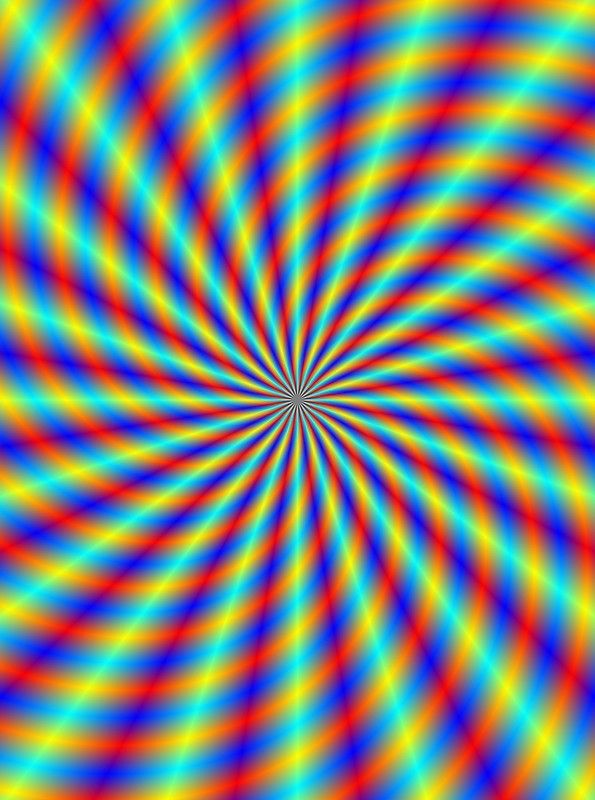 Spiral Rays In Blue Red Orange And Turquoise Poster In 2020 Optical Illusions Art Orange And Turquoise Background Images Wallpapers