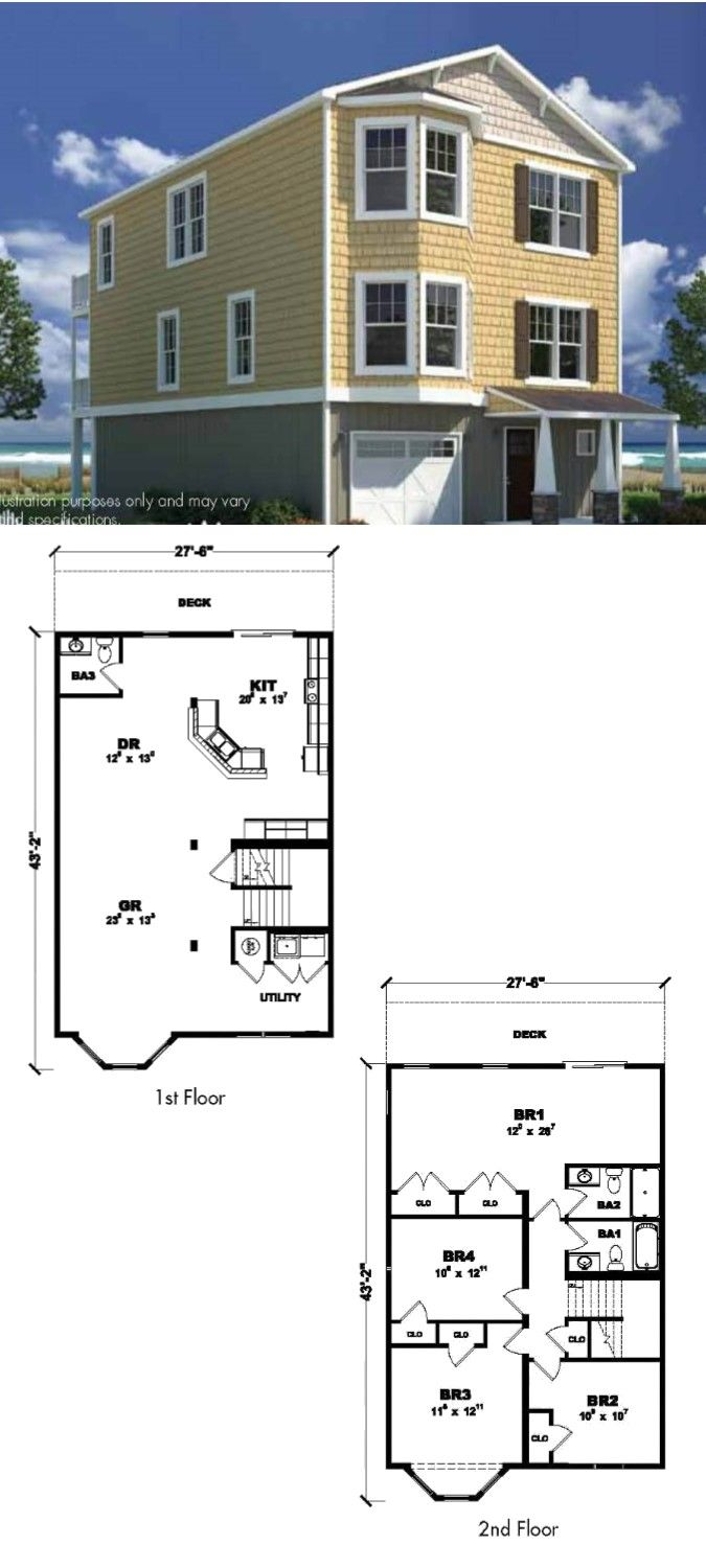 Coastal living floor plans gurus floor Coastal living floor plans