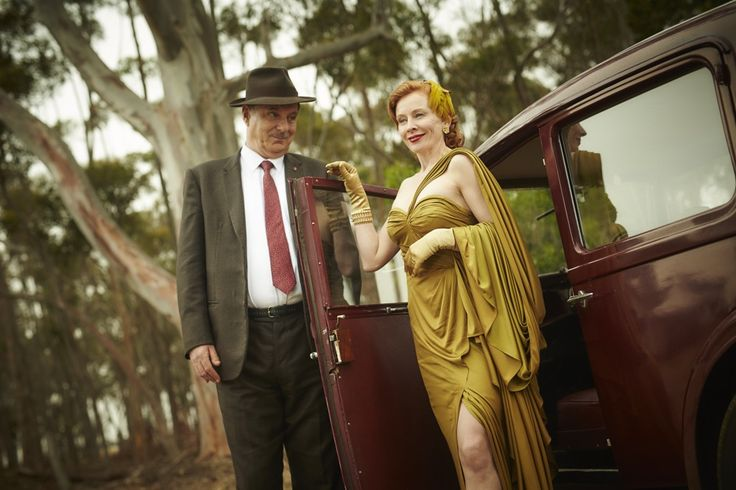 Marigold's dress at the wedding in The Dressmaker (costume design by Marion Boyce)