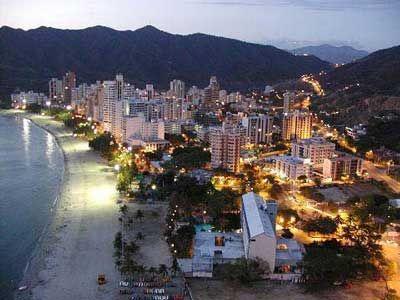 COLOMBIA |||||||||| SANTA MARTA - Rodadero, Santa Marta - Colombia  Hermosa la bahía mas linda!!!