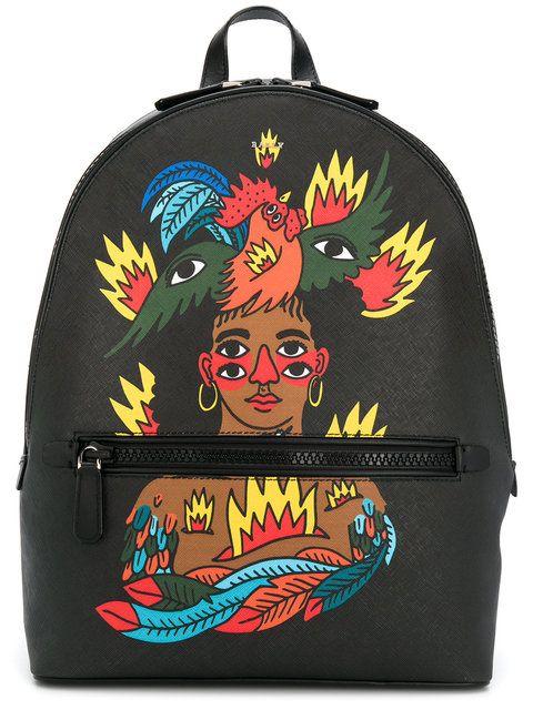 Bally Bally x Swiss Beatz backpack