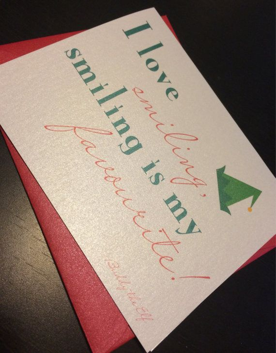 Christmas Card  i love smiling Buddy the by UptownDesignsCanada