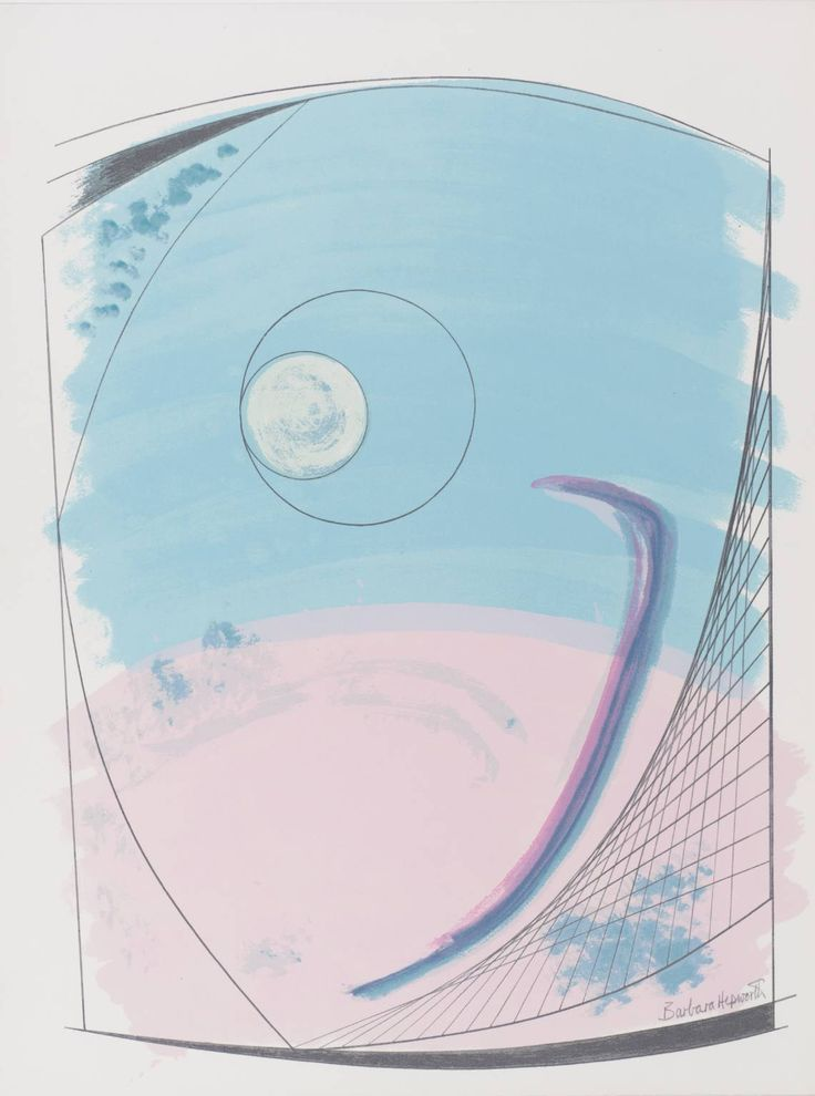 Dame Barbara Hepworth 'Winter Solstice', 1970 © Bowness, Hepworth Estate
