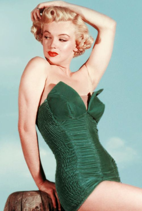 Marilyn Monroe photographed by Phil Burchman, 1951