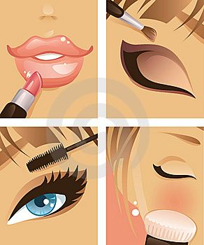 maquillarse animado - Buscar con Google