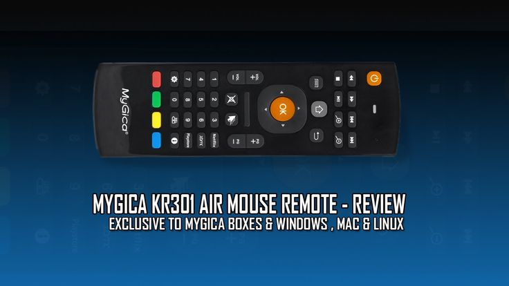 MyGica KR301 Air Mouse Remote Exclusive to MyGica Android boxes -  Review
