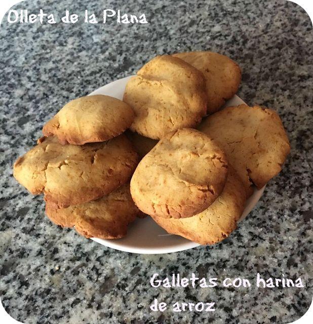 Olleta de la Plana: GALLETAS DE HARINA DE ARROZ Y MAIZENA (SIN GLUTEN, SIN LACTOSA Y BAJO EN FRUCTOSA)