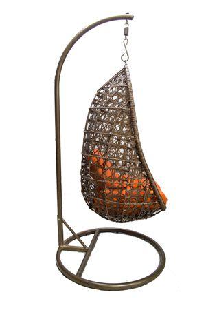 Кресло яйцо Зебра 2