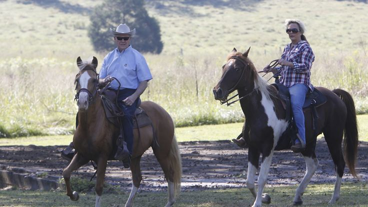 #Candidate #rides to the #polls...