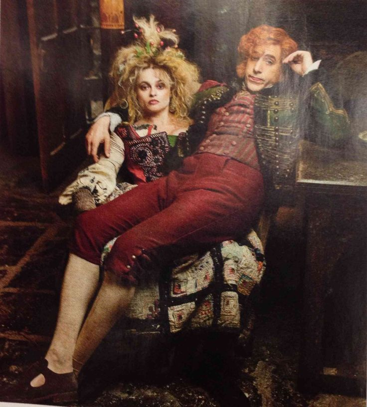 Helena Bonham Carter and Sacha Baron Cohen in Les Misérables. LOVED them!