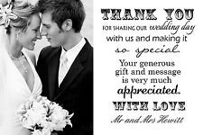 wedding thank you cards - Google Search