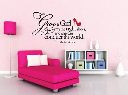 Cool Cute Love Family Motivational Quotes And Sayings Pictures For Girls  Pink Bedroom Wall Stickers Decals