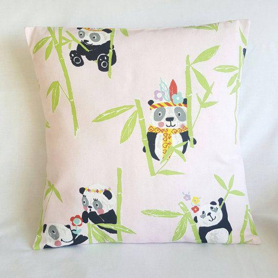 Cute pink panda cushion https://www.etsy.com/uk/listing/484103303/pink-panda-cushion-cover-kids-room