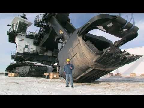 ▶ P&H Mining Equipment 4100 AC Mining Shovel Walkthrough - YouTube