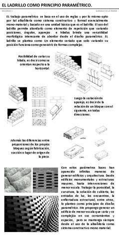 muros de ladrillo - Parametric brick wall