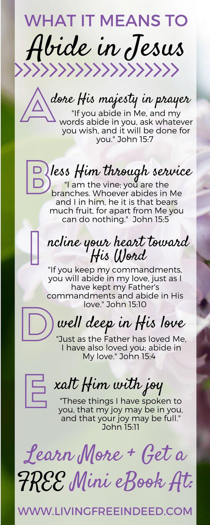 Best 25 abide in christ ideas on pinterest ephesians 3 17 we must abide in jesus in order to flourish fulfill fandeluxe PDF
