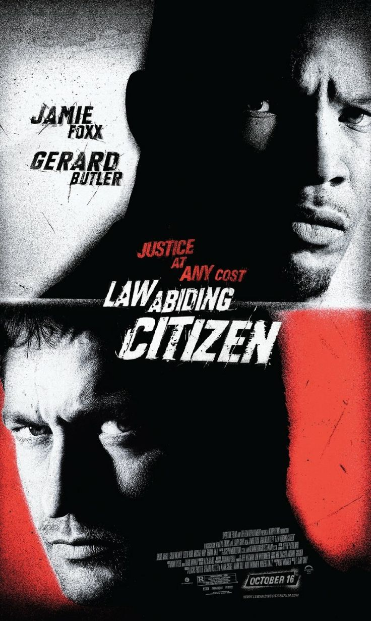 Law Abiding Citizen -- A brilliant sociopath (Gerard Butler) orchestrates a series of high-profile murders that grip the city of Philadelphia -- all from inside his jail cell. The prosecutor assigned to his case (Jamie Foxx) is the only one who can end his reign of terror.
