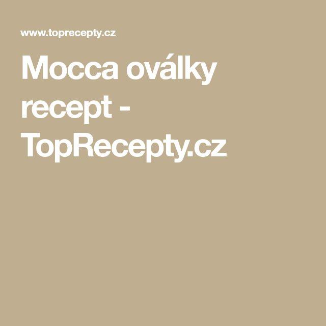 Mocca oválky recept - TopRecepty.cz