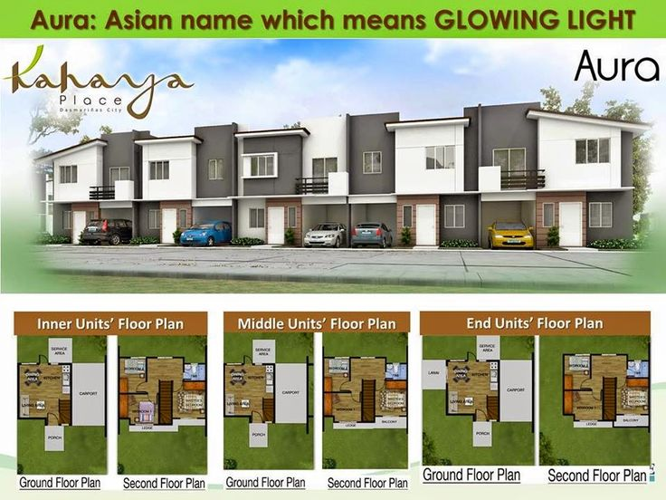 Kahaya Place Dasmari As City Aura Model Floor Plan