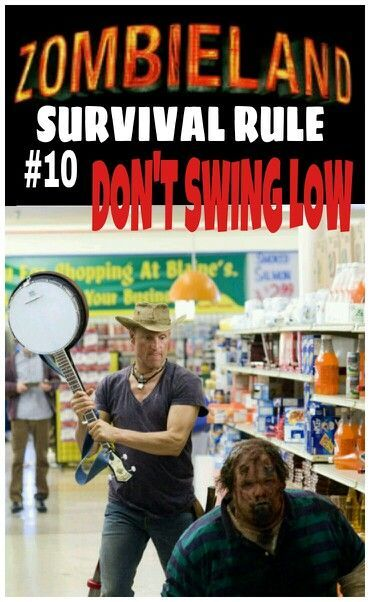 zombieland top 10 rules for dating