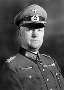 Friedrich Fromm (8 October 1888 – 12 March 1945) was a German army officer.  Against Hitler's orders to take the conspirators alive, he had them executed immediately by firing squad to cover up potential allegations that he himself was involved. However, these actions did not save him.