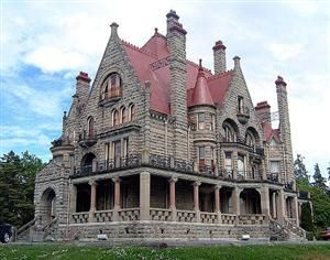 Craigdarroch Castle, Victoria, British Columbia, Canada photo...