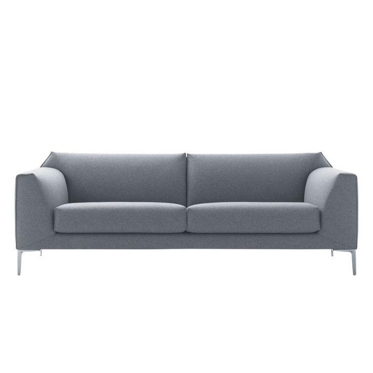 Die besten 25+ Sofa hellgrau Ideen auf Pinterest Couch hellgrau - designer couch modelle komfort